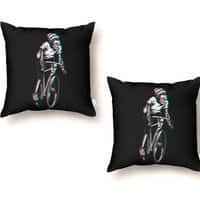 RIDE IN 3D - throw-pillow - small view