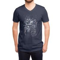 I'd Like to be Under the Sea - vneck - small view