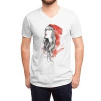 The Red Story - vneck - small view