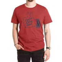 Double Thumbs - mens-extra-soft-tee - small view