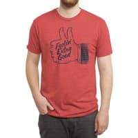 Double Thumbs - mens-triblend-tee - small view