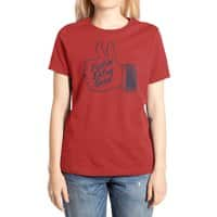 Double Thumbs - womens-extra-soft-tee - small view
