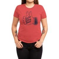 Double Thumbs - womens-triblend-tee - small view
