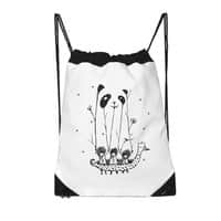 Fake Pandas Have More Fun - drawstring-bag - small view