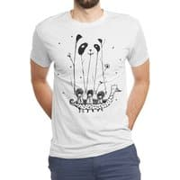 Fake Pandas Have More Fun - mens-triblend-tee - small view