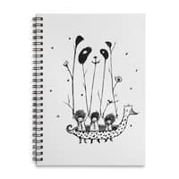 Fake Pandas Have More Fun - spiral-notebook - small view