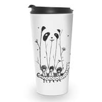 Fake Pandas Have More Fun - travel-mug - small view