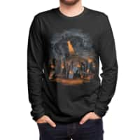 Evil Will Burn - mens-long-sleeve-tee - small view