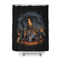 Evil Will Burn - shower-curtain - small view