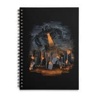 Evil Will Burn - spiral-notebook - small view