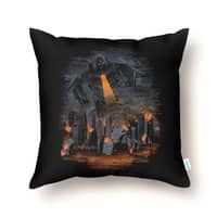 Evil Will Burn - throw-pillow - small view