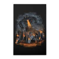 Evil Will Burn - vertical-stretched-canvas - small view