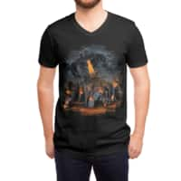 Evil Will Burn - vneck - small view