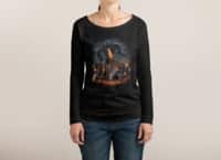 Evil Will Burn - womens-long-sleeve-terry-scoop - small view