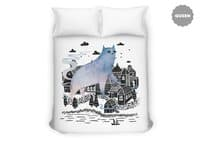 The Fog - duvet-cover - small view