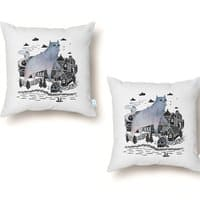 The Fog - throw-pillow - small view