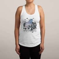 The Fog - womens-racerback-tank - small view