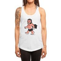 Dracula Hates Summer - womens-racerback-tank - small view