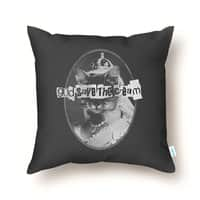 Never Mind the Furballs! - throw-pillow - small view