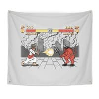 THE FINAL BATTLE - indoor-wall-tapestry - small view