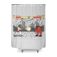 THE FINAL BATTLE - shower-curtain - small view