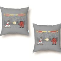 THE FINAL BATTLE - throw-pillow - small view