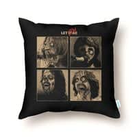 LET IT (ZOM)BE - throw-pillow - small view
