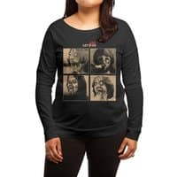 LET IT (ZOM)BE - womens-long-sleeve-terry-scoop - small view