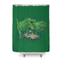 The End of Time Travel - shower-curtain - small view