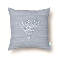 Lines Mutation - throw-pillow - small view