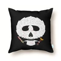 Dove of Death - throw-pillow - small view