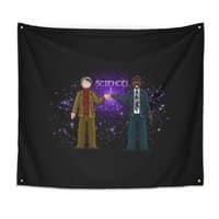 Ode to the Cosmos! - indoor-wall-tapestry - small view