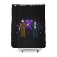 Ode to the Cosmos! - shower-curtain - small view