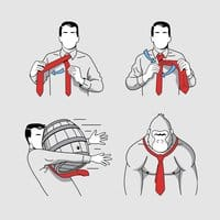 How to Tie a Tie - small view