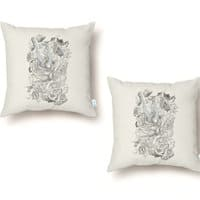 Wonderland - throw-pillow - small view