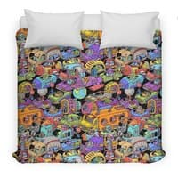 Space Traffic - duvet-cover - small view