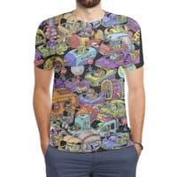 Space Traffic - mens-sublimated-triblend-tee - small view