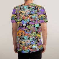 Space Traffic - mens-sublimated-tee - small view