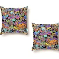 Space Traffic - throw-pillow - small view