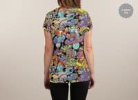 Space Traffic - womens-sublimated-v-neck - small view