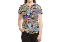 Space Traffic - womens-sublimated-triblend-tee - small view