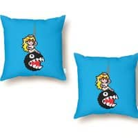 Chomping Ball - throw-pillow - small view