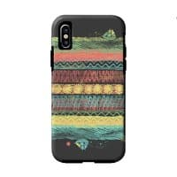 The Flat Earth - double-duty-phone-case - small view