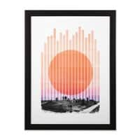 Summer Nights - black-vertical-framed-print - small view