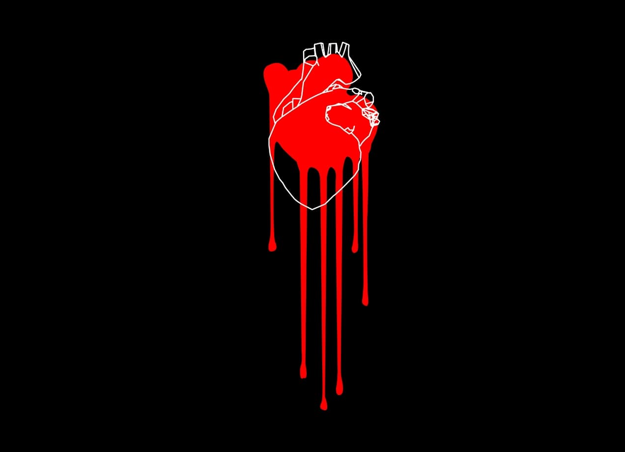 Bleeding Heart By Craig Brickles Threadless