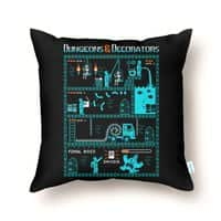 Dungeons & Decorators - throw-pillow - small view