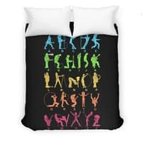 MUSICAL ALPHABET - duvet-cover - small view
