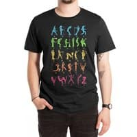MUSICAL ALPHABET - mens-extra-soft-tee - small view