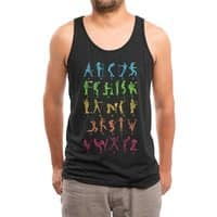 MUSICAL ALPHABET - mens-triblend-tank - small view
