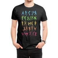 MUSICAL ALPHABET - mens-regular-tee - small view